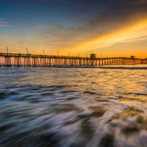 California Pier Sunset