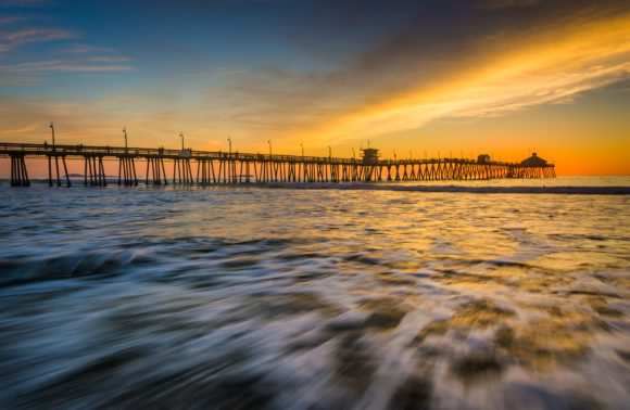 California Pier Sunset