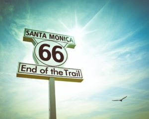 End of Route 66 in Santa Monica