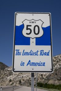 Hwy 50 - Loneliest Road In America
