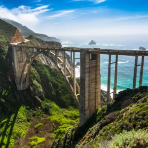 The Arches of Bixby Bridge at Big Sur