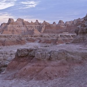 The Badlands (Mako Sica) - Badlands National Park. The Rugged Beauty of the Badlands. South Dakota, USA.
