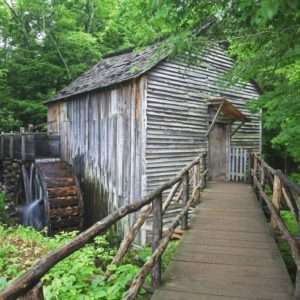 The John P Cable Grist Mills was built in the early 1870s when John Cable built his mill at the west end of Cades Cove, it was surrounded only by his fields